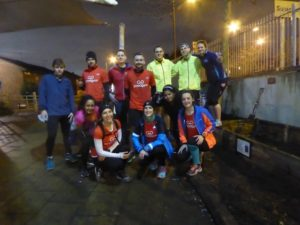 The GoodGym team on the night